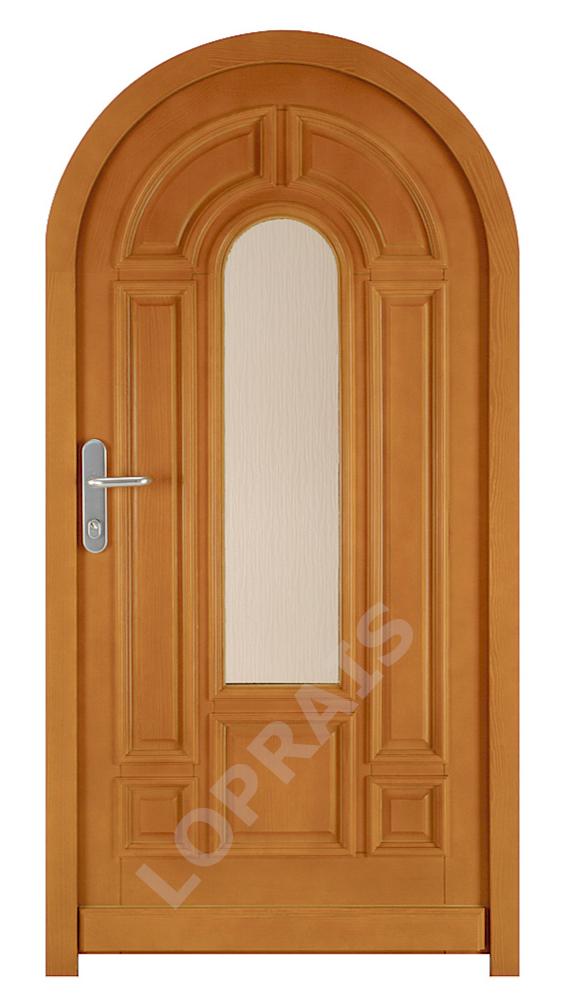 Vchodové dveře do oblouku HAMBURG 3 - Intériérové dveře Sapeli
