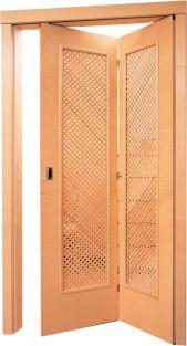 Skládací - Lamelové - Intériérové dveře Sapeli