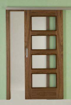 Posuvné dveře - Intériérové dveře Sapeli
